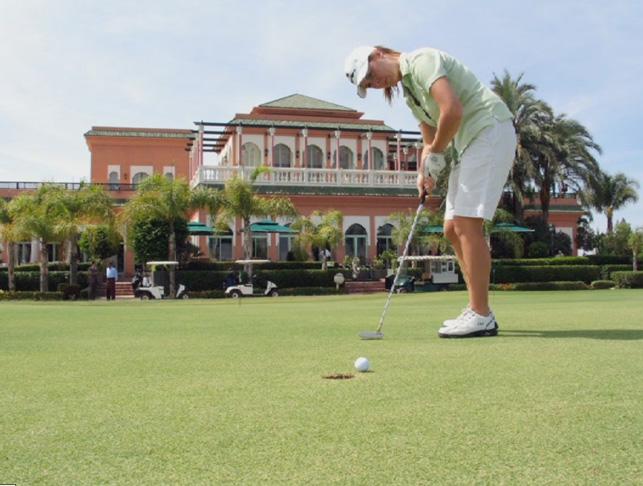 Palmeraie Golf Palace à Marrakech
