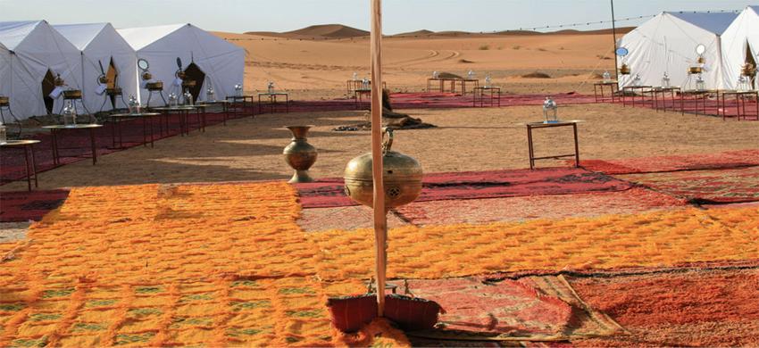 Réveillon dans le désert marocain avec les nomades