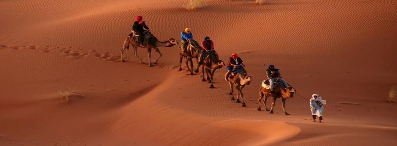 Caravane à Merzouga Maroc