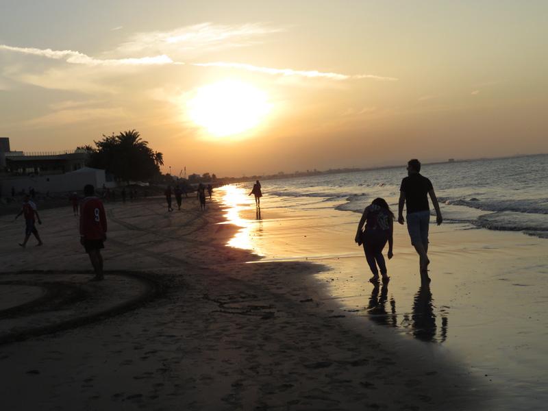 Coucher de soleil-Muskat Oman.jpg