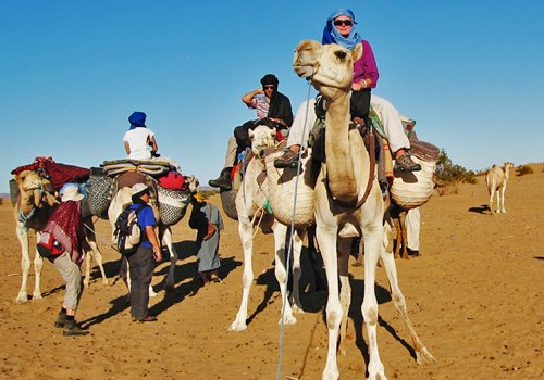 Fêtez le Nouvel-An 2019 dans le Sahara marocain