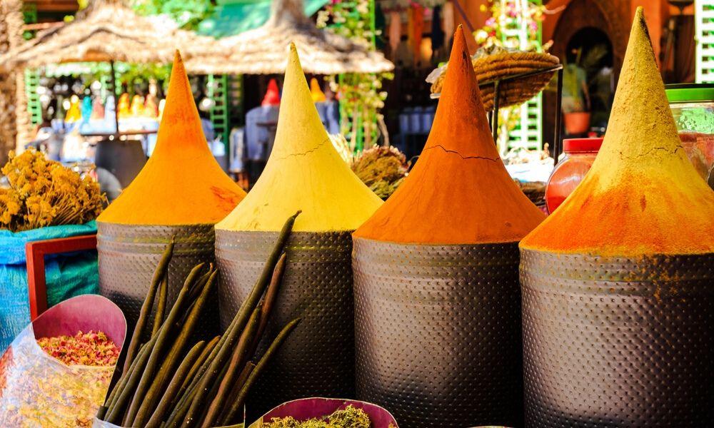 les souks a marrakech