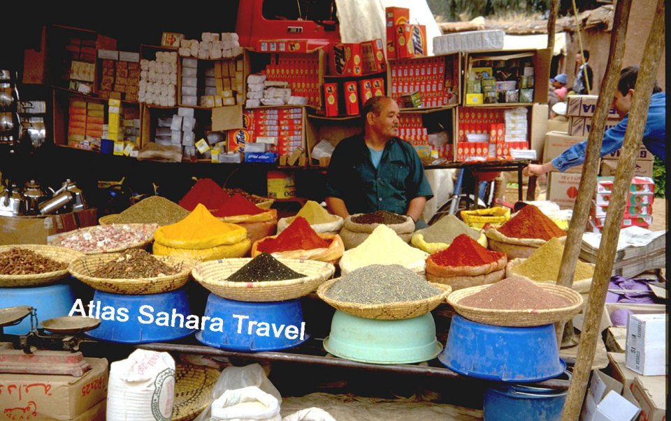 Epicier du Sud marocain