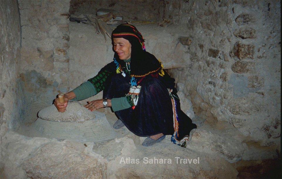 Femme Betrbère del'anti-Atlas