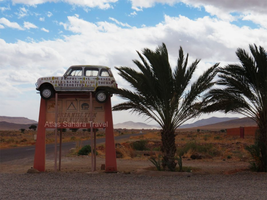 la porte du désert du Maroc