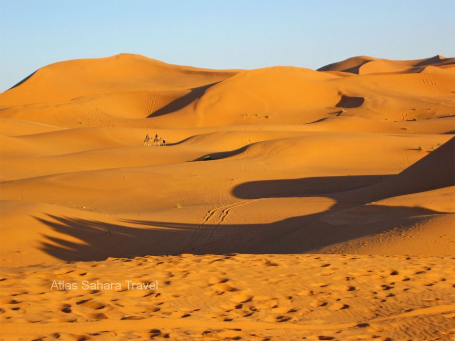 Sanddunen von Merzouga