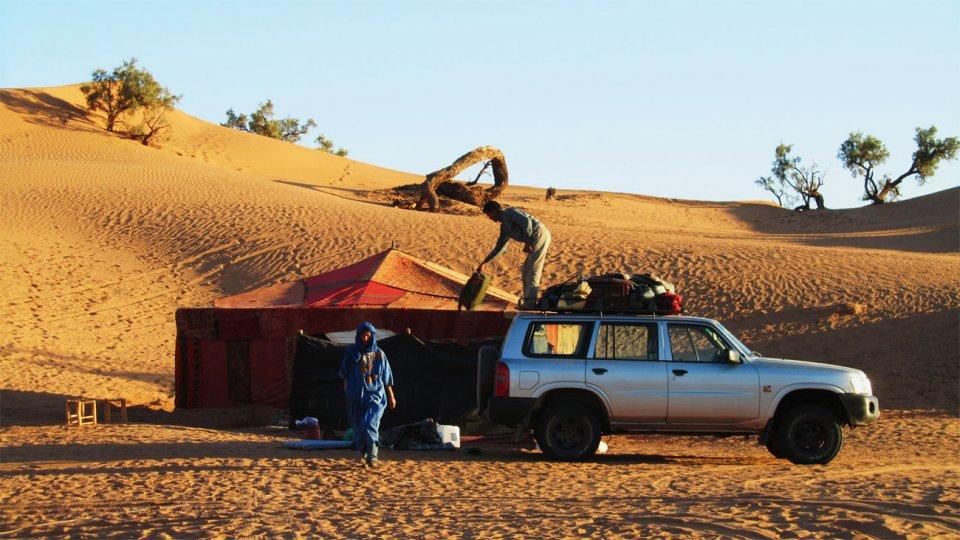 voyage de trekking dans le Sahara
