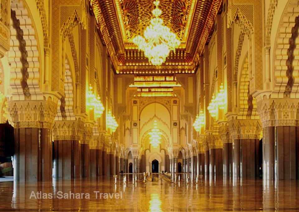 mosquée HassanII-Interieur