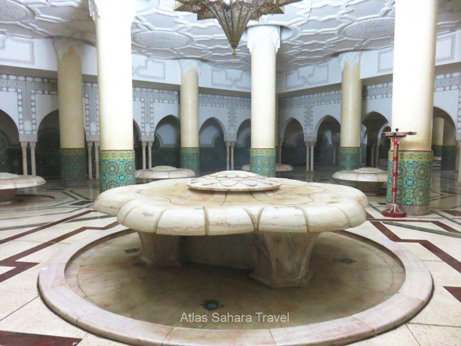 salle d'ablution-mosquée HassanII
