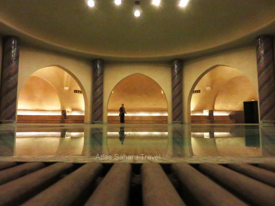 Salle d'ablution Mosquée HassanII