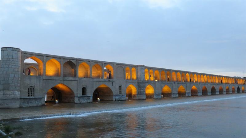 Pont Sharistan-2 Esfahan Iran