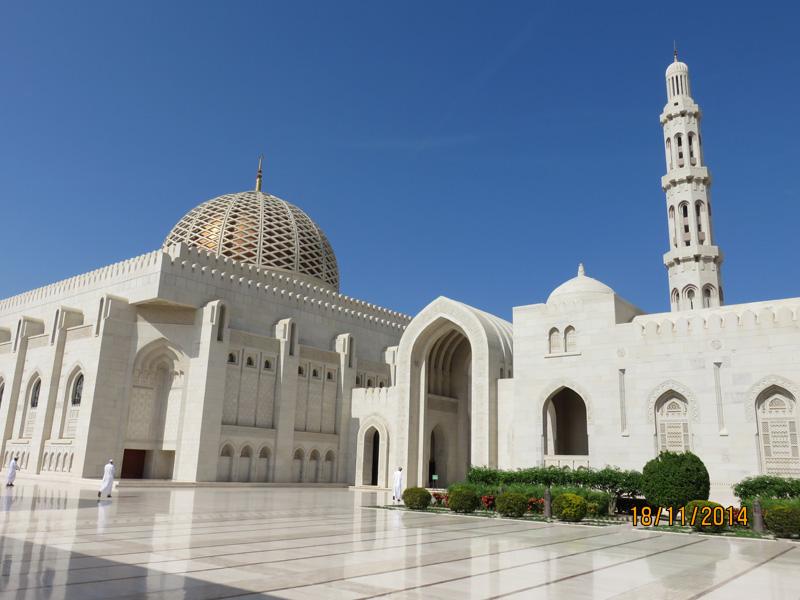 Mosqué Qabaoos à Masket Oman