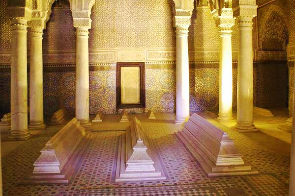 Tombeaux-Saadien-Marrakech