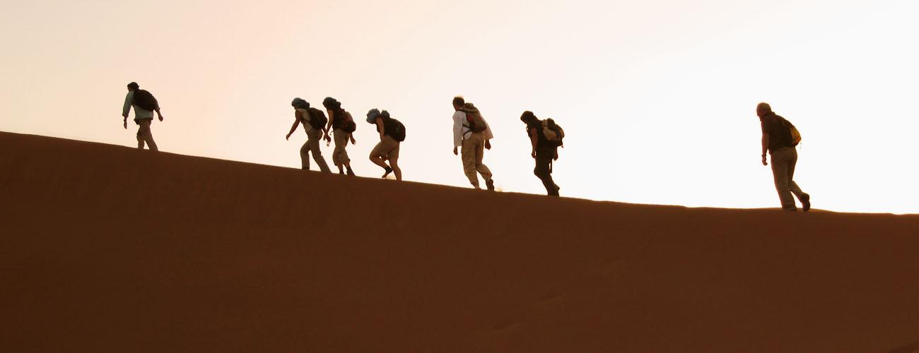 trekking au sahra maroc